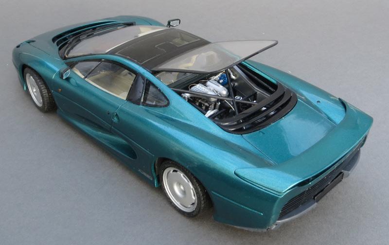Jaguar XJ220, Tamiya, 1/24 - Model Cars - Model Cars ...